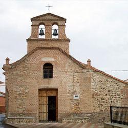 Iglesia de la Virgen del Valle, en Valdemanco del Esteras (Ciudad Real)