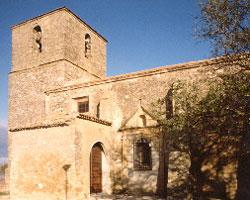 Iglesia de San Andrés, en La Hinojosa (Cuenca)