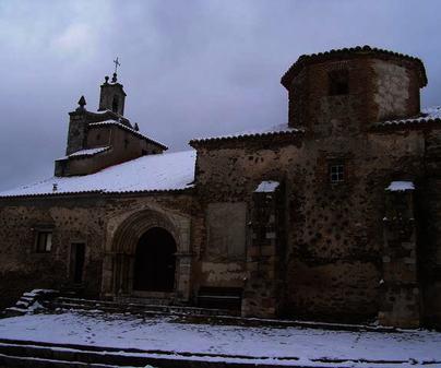 Iglesia de Bustares