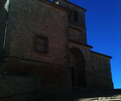 Escalinata Iglesia La Almarcha