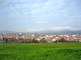 Panorámica de Cabezarrubias del Puerto (Ciudad Real)