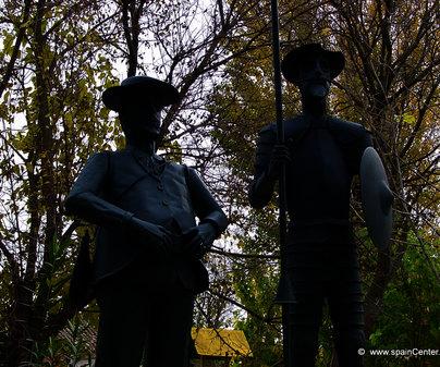 Don Quijote y Sancho Panza en La Gineta