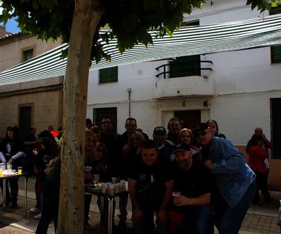 Foto de peña en fiestas en Argamasilla de Calatrava (Ciudad Real)
