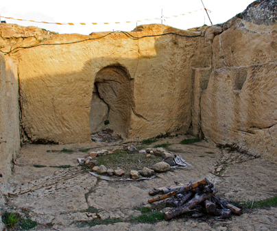 Yacimiento de La Cava, santuario